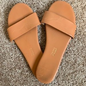 Tkees Brown Flat Sandals